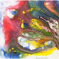 Helen Frankenthaler American Abstract Oil / Canvas
