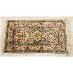 Turkish Silk Keisari Area Rug 107 x 57 cm