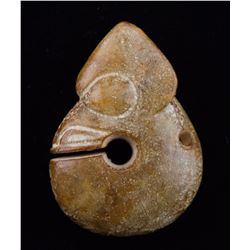 Chinese Archaistic Jade Toggle