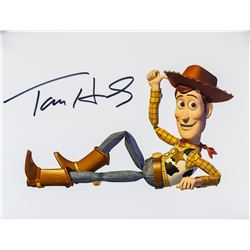 Actor Tom Hanks Autographed Photograph JSA Letter