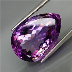 Natural Purple  Amethyst 25.30 Cts - Untreated