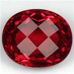 Stunning Red Topaz 24.54 carats - VVS