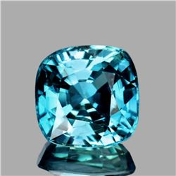 Natural  AAA Cambodian Blue Zircon 5.50 MM - FL