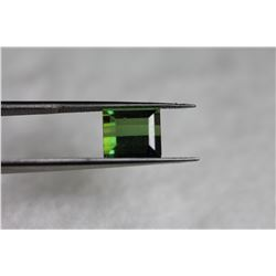 Natural Green Tourmaline 3.07 Cts - FL