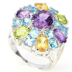 Natural Gemstone Ring