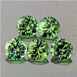 Natural Green Sapphire 3.50 mm - VVS