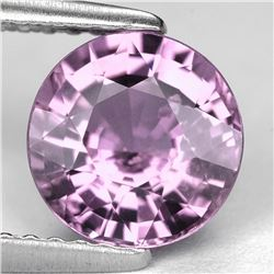 Natural Pink Burma Spinel 8.40 MM - Untreated  Flawless