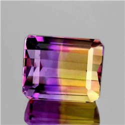 NATURAL TOP ANAHI AMETRINE FROM BOLIVIA 14x12 MM - FL