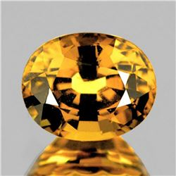 NATURAL GOLDEN YELLOW ZIRCON 4.70 Ct - Untreated