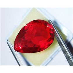 Natural Red Topaz 19.54 Carats - VVS