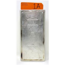 100 Oz. Academy Metals .999 Fine Silver Bar
