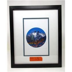 Richard Shorty Framed Print - First People