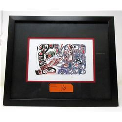 Richard Shorty Framed Print - Oceanic
