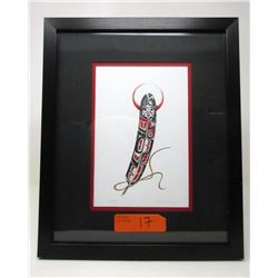 Richard Shorty Framed Print - Feather