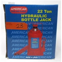 New 22 Ton Hydraulic Bottle Jack