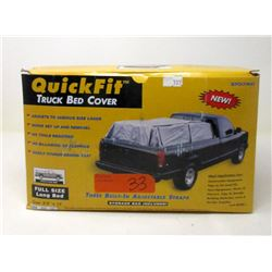 "New 8 x 12 Foot ""Quick Fit"" Truck Bed Cover"