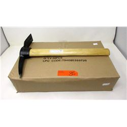 "Case of 10 New 16"" Pick Axes"