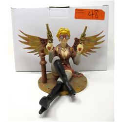 "New 5"" Steampunk Fairy Statuette with  Box"