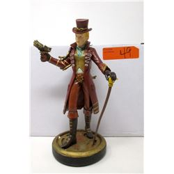 "New 10"" Steampunk Lady Statuette with Box"
