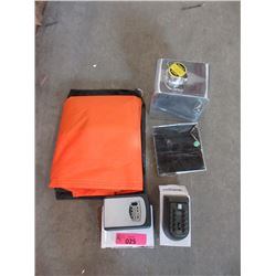 Motorcycle Cover, Mini Solar Panel & More