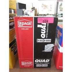 Case of LePage Window, Door & Siding Sealant