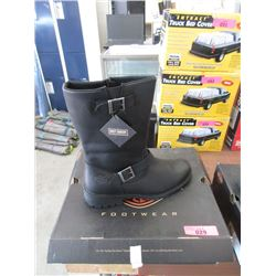 Pair of New Harley Davidson High Top Boots