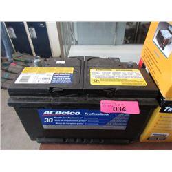 AC Delco Professional Battery - 765 CCA 140 RC