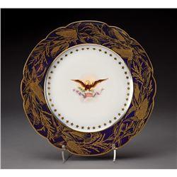 Benjamin Harrison White House China Breakfast Plate