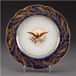 Benjamin Harrison White House China Dessert Plate