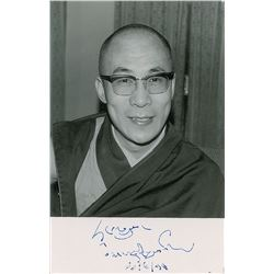 Dalai Lama and Heinrich Harrer