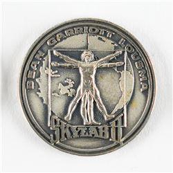 Gene Cernan's Flown Skylab 3 (SLM-2) Robbins Medal