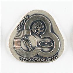 Gene Cernan's Flown Skylab 4 (SLM-3) Robbins Medal