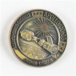 Gene Cernan's Flown Apollo-Soyuz Test Project Robbins Medal