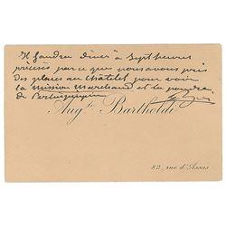 Frederic-Auguste Bartholdi