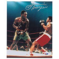 Joe Frazier and Mike Tyson