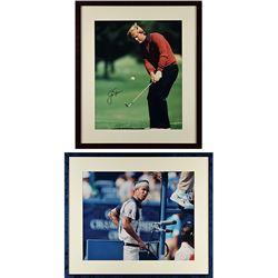 Jack Nicklaus and John McEnroe