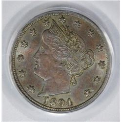 1894 LIBERTY NICKEL