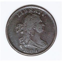 1804 HALF CENT PL4 STEMLESS