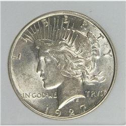 1927-D PEACE DOLLAR