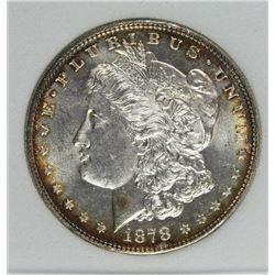 1878 7/8 F MORGAN DOLLAR