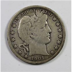 1904-O BARBER HALF DOLLAR