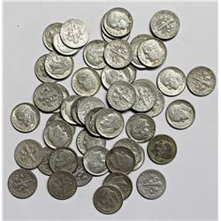 $5.10 FACEVALUE IN SILVER DIMES