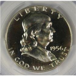 1956 FRANKLIN HALF DOLLAR