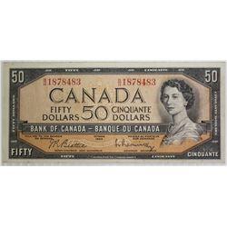 1954 $50 CANADA NOTE