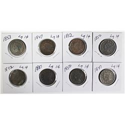 GROUP OF LARGE CENTS