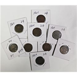 GROUP LOT OF TWO CENTS
