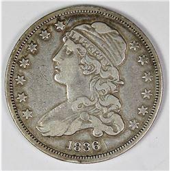 1836 BUST QUARTER