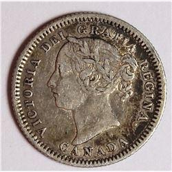 1881-H CANADA DIME