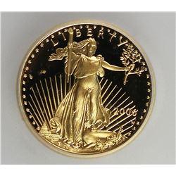 2006-W AMERICAN SILVER EAGLE $5 GOLD