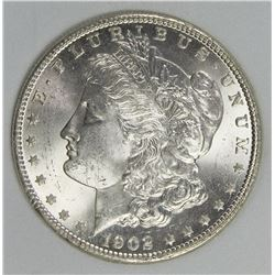1902-O MORGAN SILVER DOLLAR